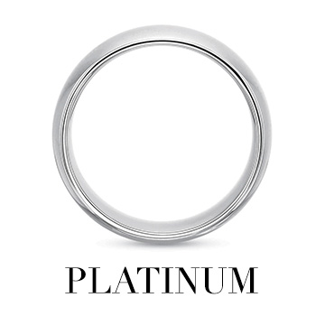 Platinum Mens Bands