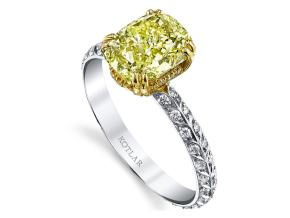 Engagement Rings from the Artisan Pave - By Harry Kotlar - Style #: DRA128C-KC09