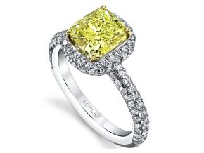 Engagement Rings from the Arabesque - By Harry Kotlar - Style #: DRP130B-RA08