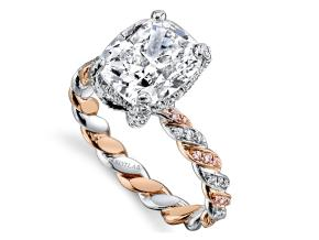 Engagement Rings from the Twist - By Harry Kotlar - Style #: DRX146B-KC17