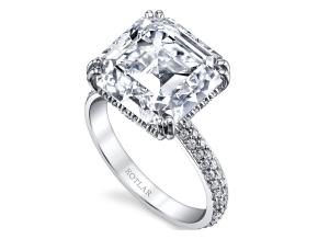 Engagement Rings from the Arabesque - By Harry Kotlar - Style #: DRP133A-AS35