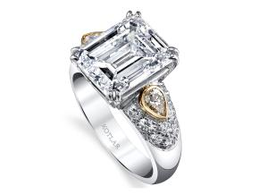 Engagement Rings from the The Vault - By Harry Kotlar - Style #: DRP167A-EC24