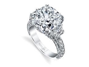 Engagement Rings from the Artisan Pave - By Harry Kotlar - Style #: DRA135A-KC40