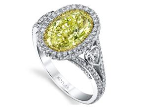 Engagement Rings from the The Vault - By Harry Kotlar - Style #: DRP191C-OV13