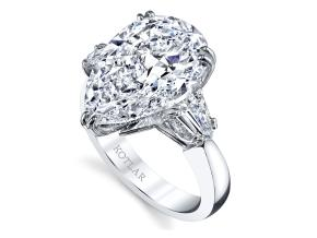 Engagement Rings from the The Vault - By Harry Kotlar - Style #: DRG135B-PS40