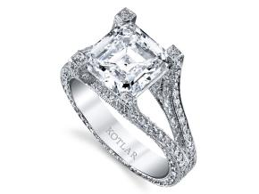 Engagement Rings from the Unity - By Harry Kotlar - Style #: DRP140A-AS13