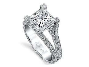 Engagement Rings from the Unity - By Harry Kotlar - Style #: DRP140A-PR12