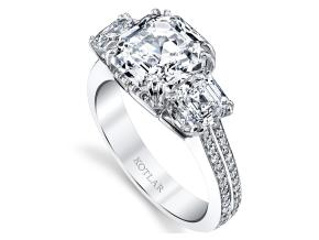 Engagement Rings from the Harmonie - By Harry Kotlar - Style #: DTP185A-AS13