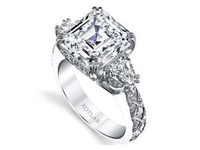 Engagement Rings from the Artisan Pave - By Harry Kotlar - Style #: DRA142A-AS20
