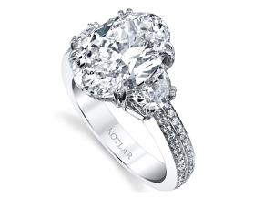 Engagement Rings from the Harmonie - By Harry Kotlar - Style #: DRP141C-OV20