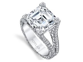 Engagement Rings from the Unity - By Harry Kotlar - Style #: DRP140A-AS20