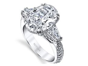 Engagement Rings from the Harmonie - By Harry Kotlar - Style #: DRP142A-OV20