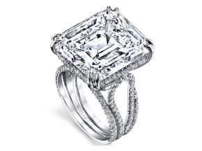 Engagement Rings from the The Vault - By Harry Kotlar - Style #: DRP226A-EC75