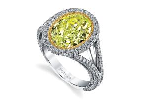 Engagement Rings from the Luminesce - By Harry Kotlar - Style #: DRP191C-OV22