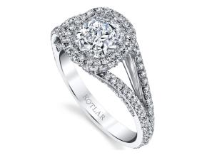Engagement Rings from the Crescendo - By Harry Kotlar - Style #: DRP191B-KC05