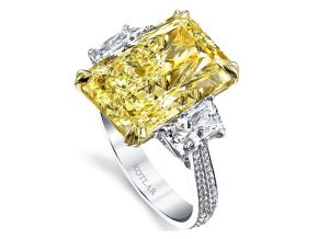 Engagement Rings from the Harmonie - By Harry Kotlar - Style #: DRP112B-RA40