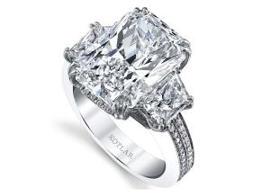 Engagement Rings from the Harmonie - By Harry Kotlar - Style #: DRP174A-RA33