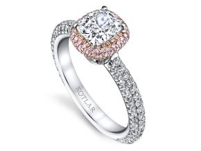 Engagement Rings from the Arabesque - By Harry Kotlar - Style #: DRP130A-KC03