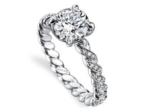 Engagement Rings from the Twist - By Harry Kotlar - Style #: DRX146A-RD05