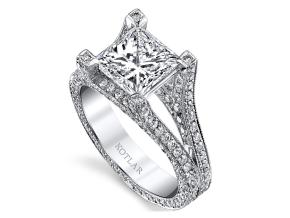 Engagement Rings from the Unity - By Harry Kotlar - Style #: DRP140A-PR09