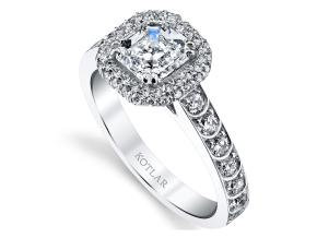 Engagement Rings from the Artisan Pave - By Harry Kotlar - Style #: DRP202A-AS04