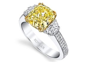Engagement Rings from the Harmonie - By Harry Kotlar - Style #: DRP141E-CU12