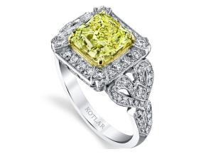 Engagement Rings from the The Vault - By Harry Kotlar - Style #: DRP152A-RA10