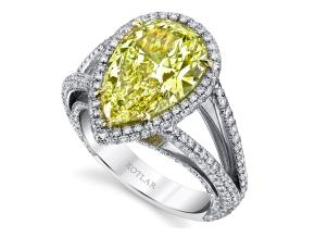 Engagement Rings from the Luminesce - By Harry Kotlar - Style #: DRP191C-PS19