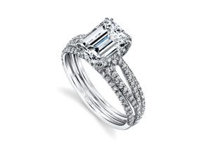 Engagement Rings from the Arabesque - By Harry Kotlar - Style #: DRP226A-EC07