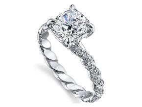 Engagement Rings from the Twist - By Harry Kotlar - Style #: DRX146A-KC07