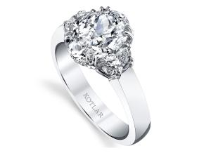 Engagement Rings from the Classico - By Harry Kotlar - Style #: DRG174A-OV10