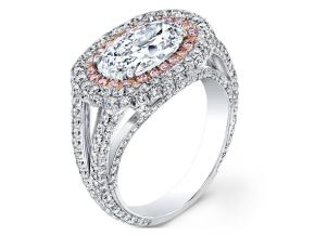 Engagement Rings from the Crescendo - By Harry Kotlar - Style #: DRP207A-OV08