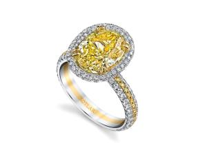 Engagement Rings from the Arabesque - By Harry Kotlar - Style #: DRP241A-OV14