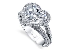 Engagement Rings from the Crescendo - By Harry Kotlar - Style #: DRP191B-HS16