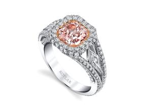 Engagement Rings from the Crescendo - By Harry Kotlar - Style #: DRP191B-RA05