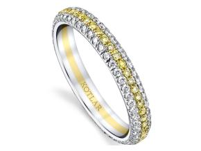 Wedding Rings from the Arabesque - By Harry Kotlar - Style #: DDP130B-ME02