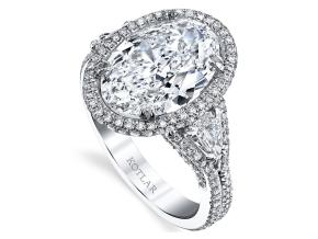 Engagement Rings from the Crescendo - By Harry Kotlar - Style #: DRP215A-OV18