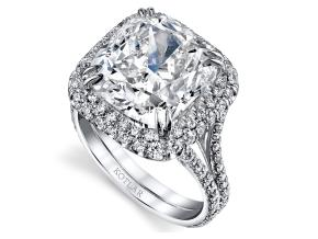 Engagement Rings from the Crescendo - By Harry Kotlar - Style #: DRH272A-CU36