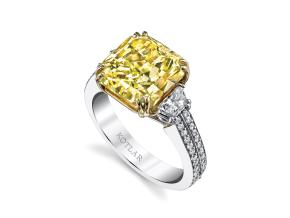 Engagement Rings from the Harmonie - By Harry Kotlar - Style #: DRP141E-RA24