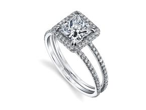Engagement Rings from the Arabesque - By Harry Kotlar - Style #: DRP225A-PR05