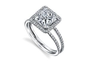 Engagement Rings from the Arabesque - By Harry Kotlar - Style #: DRP225A-PR09