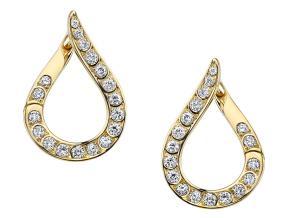 Earrings from the Kotlar 1948 - By Harry Kotlar - Style #: DFE-101YME02