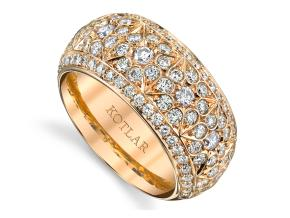 Wedding Rings from the Dynasty - By Harry Kotlar - Style #: DDA275R-ME08