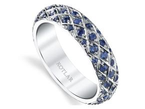 Wedding Rings from the Artisan Pave - By Harry Kotlar - Style #: DDA272P-ME04