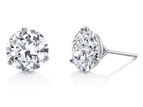 Earrings from the Classico - By Harry Kotlar - Style #: CES140W-RD25