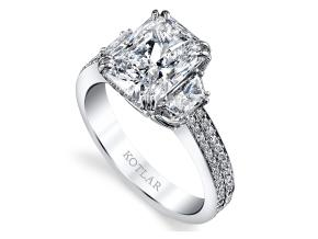 Engagement Rings from the Harmonie - By Harry Kotlar - Style #: DRP174A-RA12