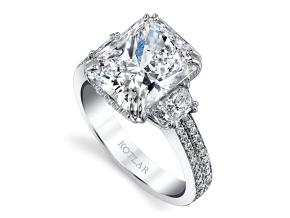 Engagement Rings from the Harmonie - By Harry Kotlar - Style #: DRP174A-RA20