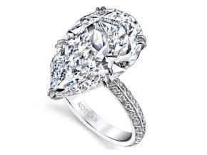 Engagement Rings from the Artisan Pave - By Harry Kotlar - Style #: DRA128C+PS33