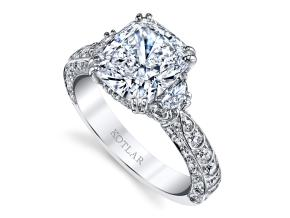 Engagement Rings from the Artisan Pave - By Harry Kotlar - Style #: DRA135A-KC-12