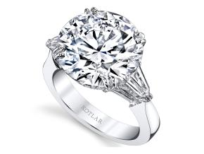 Engagement Rings from the Classico - By Harry Kotlar - Style #: DRG135B-RD36